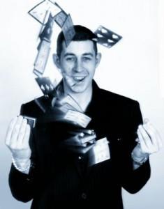 Magician Carlton Nottingham